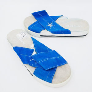Converse Women's One Star Casual Slide Sanlal Blue